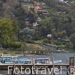 Pueblo de SAN ANTONIO PALOPO. Lago Atitllan. Departamento de Sololá. Guatemala. Centroamerica