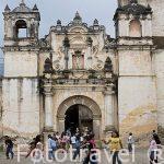 Iglesia de JACOTENANGO, s.XVI- XIX. Barroca. Guatemala. Centroamerica