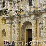 Iglesia de la Nuestra Señora de la Merced. s.XVI-XVIII. ANTIGUA. Departamento de Sacatepequez. Guatemala. Centroamerica