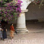 Claustro. Convento de las Capuchinas, 1734. Ciudad de ANTIGUA. Departamento de Sacatepequez. Guatemala. Centroamerica