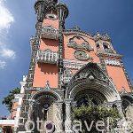 Iglesia Yurrita. estilo neogotico, s.XIX. Arquitectos los Hnos. Velazquez. Ciudad de GUATEMALA. Guatemala. Centroamerica
