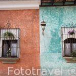 Hotel Villa Colonial. Ciudad de ANTIGUA. Departamento de Sacatepequez. Guatemala. Centroamerica