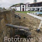 Pousada Santa Cruz en el interior de la fortaleza. Horta. Isla de FAIAL. Azores. Portugal