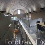 Moderna sala de bar y descanso. Pousada de Sao Sebastiao. En la poblacion de Angra do Heroismo.Isla de TERCEIRA