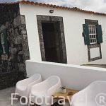 Terraza de la casa rural Pozinho Bay. Isla de PICO