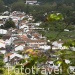 Vista del pueblo de Furnes. Isla de SAO MIGUEL