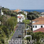 Vista del pueblo de Candelaria. Isla de PICO.