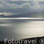 Vista desde la isla de PICO. Al fondo se divisa la isla de FAIAL