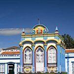 La capilla Imperio da Caridade (una de las 70 que hay en la isla para celebrar la llegada del Espiritu Santo). Isla de TERCEIRA
