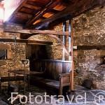 Casa museo Marques de Sargadelos. En FERREIRELA DE ABAJO. Zona de Oscos. Asturias. España