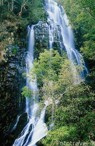 Cascada de la Seimeira. Cerca de SANTA EULALIA DE OSCOS. Asturias. España