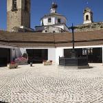 Mercado de Abastos dentro del recinto amurallado del castillo templario. FREGENAL DE LA SIERRA. Provincia. Badajoz. Extremadura. España - Spain