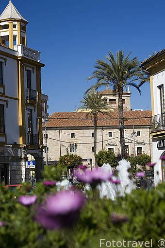 Plaza de España. MERIDA. Ciudad Patrimonio Unesco. Badajoz. Extremadura. España