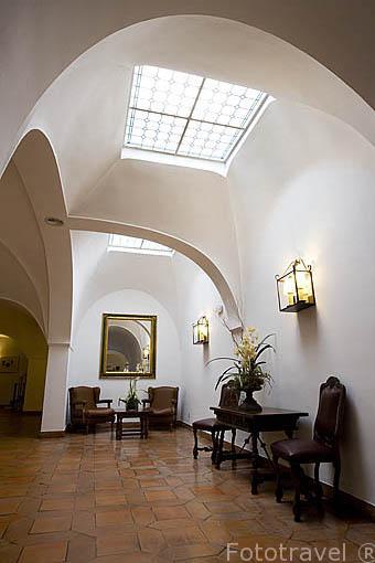 Habitacion. Parador de Merida. Ciudad de MERIDA, Patrimonio de la Unesco. Badajoz. Extremadura. España