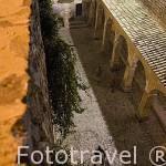 Plaza de Armas, s.XVIII. Ciudad de IBIZA, Patrimonio de la UNESCO. Islas Baleares. Mar Mediterraneo. España