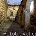 La Plaza de Armas , s.XVIII. Barrio de Dalt Vila. Ciudad de IBIZA, patrimonio de la Humanidad, UNESCO. Islas Baleares. España