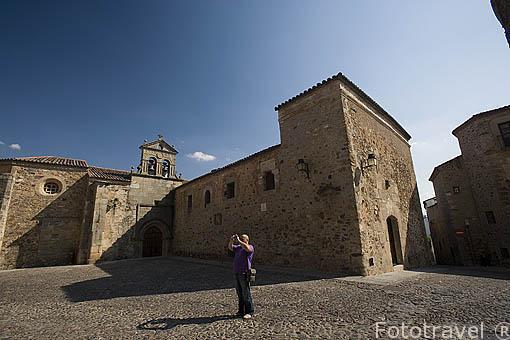Plaza de las Veletas o los Aljibes. CACERES. Ciudad Patrimonio de la Humanidad. Extremadura. España