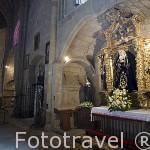 Capilla de la Virgen de los Dolores. Barroco, 1743. Concatedral de Santa María. s,XIII, gótica. CACERES. Ciudad Patrimonio de la Humanidad.Extremadura. España