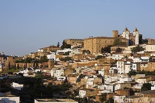 La ciudad de CACERES. Convertida en villa por Alfonso IX en 1229. Ciudad Patrimonio de la Humanidad Unesco desde1986. Extremadura. España