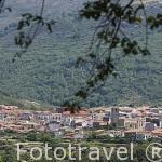 Población de GUIJO DE SANTA BARBARA. Provincia de Caceres. Extremadura. España - Spain