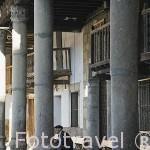 Plaza y Ayuntamiento. VALVERDE DE VERA. Provincia de Caceres. Extremadura. España - Spain