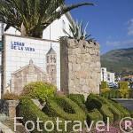 Entrada a la población de LOSAR DE VERA. Provincia de Caceres. Extremadura. España - Spain
