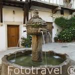 Fuente de los Chorros, s.XVI. Población de CUACOS DE YUSTE. Provincia de Caceres. Extremadura. España - Spainn