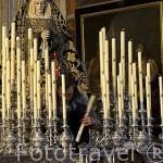 Nuestra Señora de la Soledad. Obra de Mena. XVII. GRANADA. Andalucia. España
