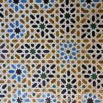 Los mejores alicatados por su reducido tamaño estan el Mirador de Lindaraja. La Alhambra, UNESCO. Ciudad de GRANADA. Andalucia. España