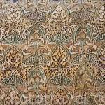 Detalle en una pared. La Alhambra, UNESCO. Ciudad de GRANADA. Andalucia. España