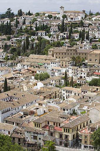 Barrio del Albaycin. Ciudad de GRANADA. Andalucia. España