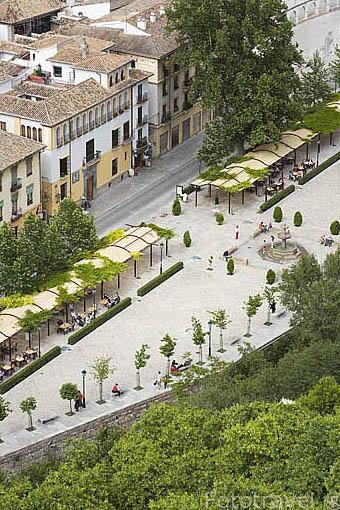 Paseo de los Tristes. Ciudad de GRANADA. Andalucia. España