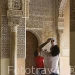 Sala de los Mocarabes. La Alhambra, UNESCO. Ciudad de GRANADA. Andalucia. España