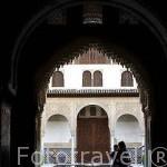 Palacio de los Arrayanes. La Alhambra, UNESCO. Ciudad de GRANADA. Andalucia. España