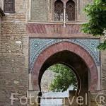 Puerta del Vino. La Alhambra, UNESCO. Ciudad de GRANADA. Andalucia. España