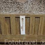 Detalle de una llave. Puerta del Vino. La Alhambra, UNESCO. Ciudad de GRANADA. Andalucia. España