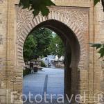 Puerta del Vino. La Alhambra,UNESCO. Ciudad de GRANADA. Andalucia. España