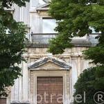 Fachada principal del Palacio de Carlos V. Ciudad de GRANADA. Andalucia. España