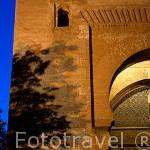 La Puerta de la Justicia. Mandada edificar por Yusuf I en 1348. La Alhambra,UNESCO. Ciudad de GRANADA. Andalucia. España