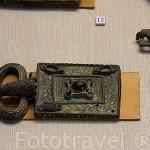 Hebillas y otras piezas. Epoca visigoda. Museo Arqueológico y etnográfico. Ciudad de GRANADA. Andalucia. España