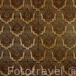 Detalle de una pared. Palacio de Comares. La Alhambra,UNESCO. Ciudad de GRANADA. Andalucia. España