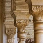 Detalles de arquitectura en el Palacio del Generalife. La Alhambra, UNESCO. Ciudad de GRANADA. Andalucia. España