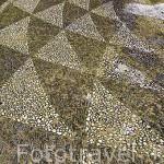 Detalle del suelo. Patio del edificio del Ayuntamiento. Ciudad de GRANADA. Andalucia. España