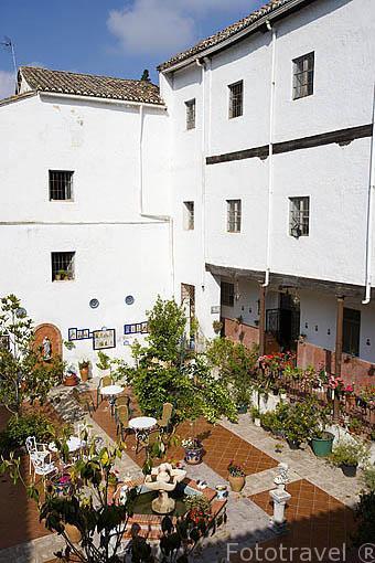 Patio interior del monasterio de Santa Ines, s.XVI. GRANADA. Andalucia. España
