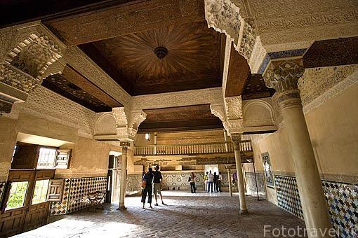 Sala del Mexuar.Palacios Nazaries. La Alhambra, UNESCO. Ciudad de GRANADA. Andalucia. España