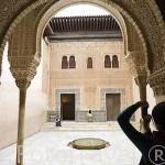 Fachada del Palacio de Comares. Palacios Nazaries. La Alhambra, UNESCO. Ciudad de GRANADA. Andalucia. España