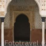 El Patio del Harem. La Alhambra, UNESCO. Ciudad de GRANADA. Andalucia. España