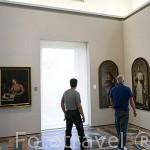 Oleos de Fray Juan Sanchez Cotán. Museo de Bellas Artes. En Palacio de Carlos V. La Alhambra, UNESCO. GRANADA. Andalucia. España