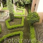 Patio de Lindaraja. La Alhambra, UNESCO. Ciudad de GRANADA. Andalucia. España
