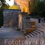 Puerta de la Justicia. Mandada construir por el sultán Yusuf I en 1348. La Alhambra,UNESCO. Ciudad de GRANADA. Andalucia. España